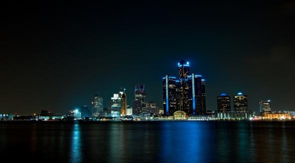 Detroit Skyline. Courtesy of Mike Boening www.memoriesbymike.zenfolio.com