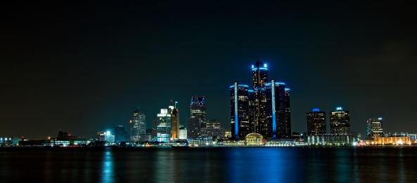 Detroit Skyline. Courtesy of Mike Boening www.memoriesbymike.zenfolio.com