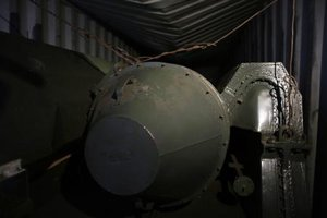 North Korean Missiles aboard the DPRK Ship Chong Chon Gang.  (Courtesy of Yahoo)