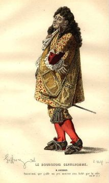 Le Bourgeois gentilhomme (1670), by Molière