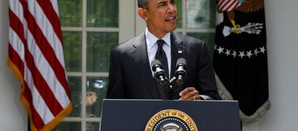 Obama Announces End to Military Campaign in Afghanistan-post2014. Courtesy Reuters