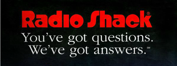 radioshack questions